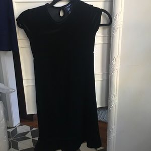 Gap kids velvet dress sm